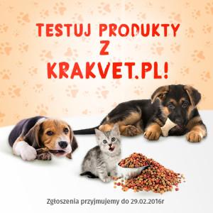 """""""Testuj produkty z Krakvet.pl!"""" II edycja"""