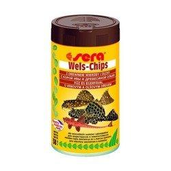 SERA Wels Chips   pokarm w chipsach dla rybek