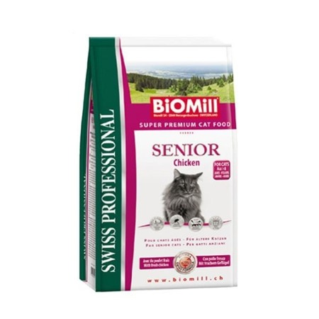BIOMILL Swiss Professional Senior Chicken & Rice