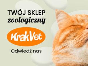 Sklep zoologiczny KrakVet - odwiedź nas