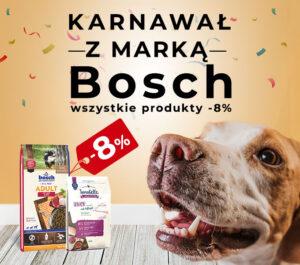 Karma dla psa i kota Bosch