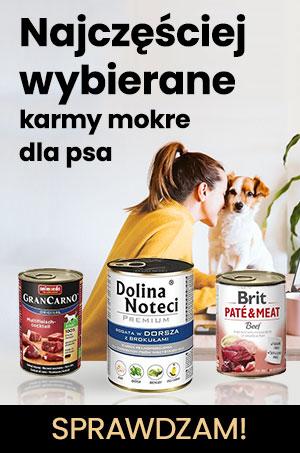 Karmy mokre dla psa