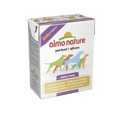 ALMO NATURE Daily Menu Dog Kurczak i indyk - tetra pak 12x375g
