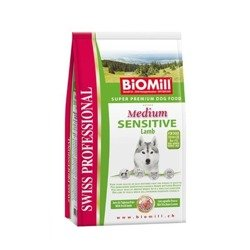 BIOMILL Swiss Professional Medium Sensitive lamb & rice 2x12kg