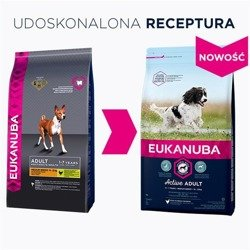 EUKANUBA Adult Medium Breed z kurczakiem 2x15kg
