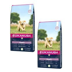 EUKANUBA Puppy & Junior rich in Lamb & Rice 2x12kg