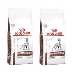 ROYAL CANIN Intestinal Gastro Low Fat 2x12g - sucha karma dla psa