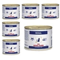 ROYAL CANIN Renal Cat - puszka 6x195g