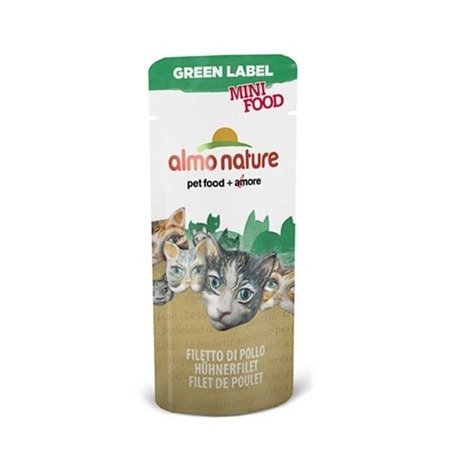 ALMO NATURE Green Label Mini Food Filet - saszetka kurczaka 3g