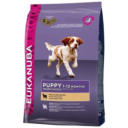 EUKANUBA Puppy & Junior rich in Lamb & Rice 2,5kg