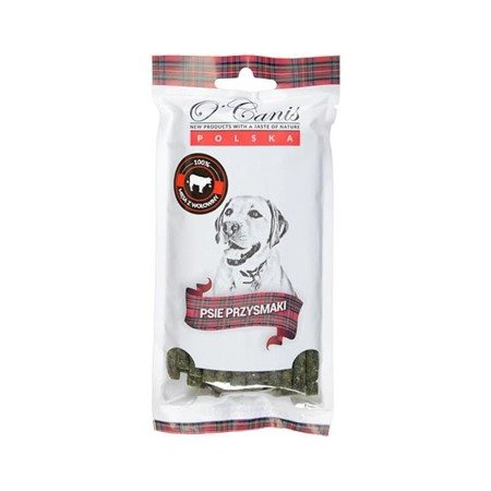 O'CANIS - MINI Dental Sticks - drobiowo - wołowe z chlorofilem 100g