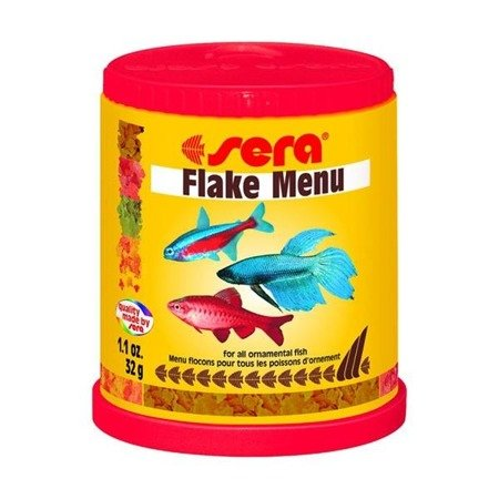 SERA Flake Menu - pokarm dla rybek 150ml